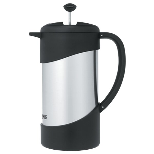4.23-Cup Vacuum Insulated French Press Coffee Maker by Thermos