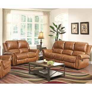 Bitter Root Leather 2 Piece Living Room Set