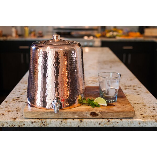 Niagara Beverage Dispenser by Sertodo Copper