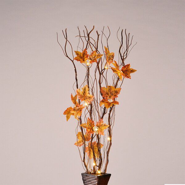 LED 16 Light Natural Willow Branches by Lightshare