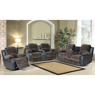Downham Reclining 3 Piece Living Room Set by Red Barrel Studio®