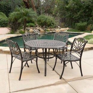 Finlayson 5 Piece Outdoor Dining Set