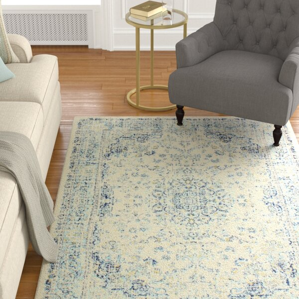 Bertrand Ivory Area Rug by Charlton Home