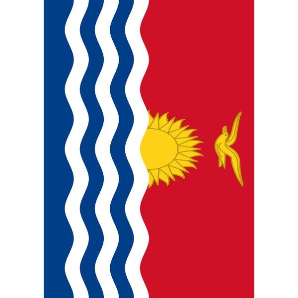 Kiribati Garden flag by Toland Home Garden