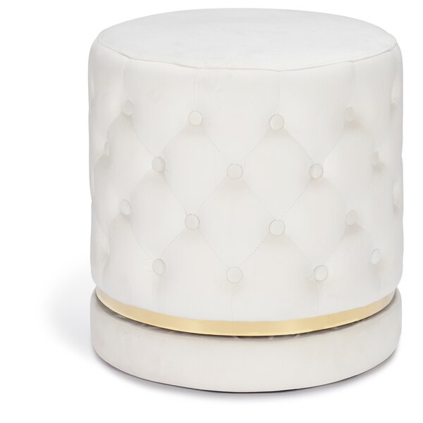 Vancamp Tufted Ottoman by Mercer41