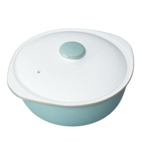 Azure Round Casserole by Denby