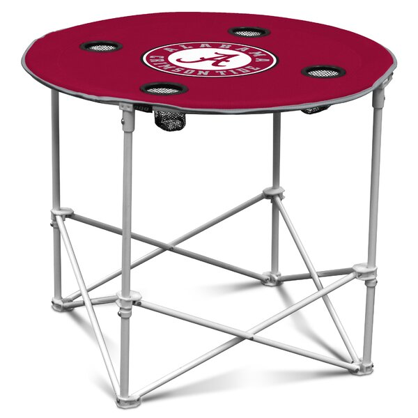 NCAA 30 Circular Folding Table by Logo Brands