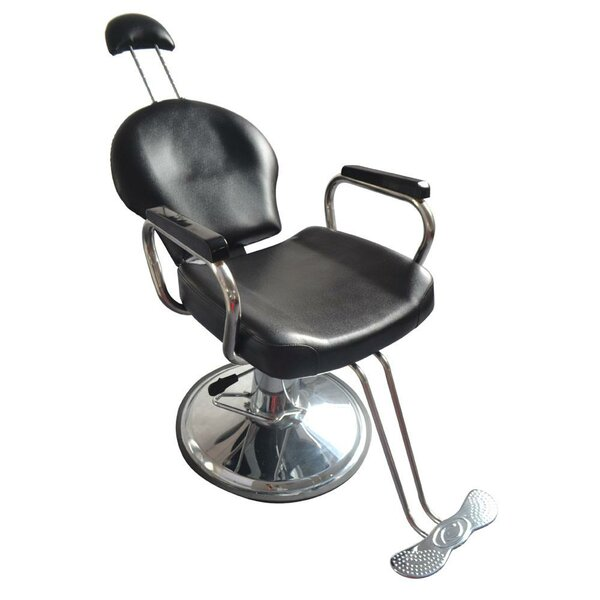 Barber Shampoo Salon Reclining Massage Chair By Ebern Designs