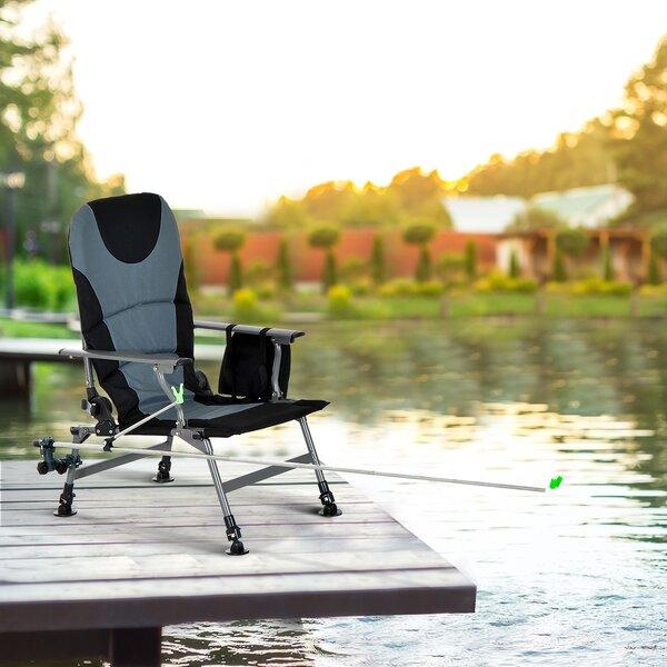 Serrano Fishing Folding Camping Chair by Freeport Park