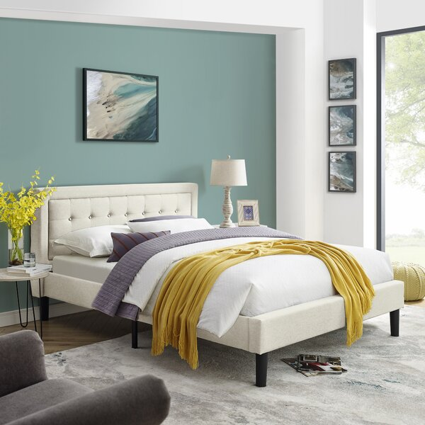 Scarlett Mornington Upholstered Platform Bed by Ebern Designs