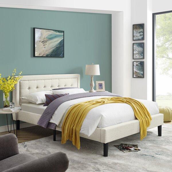 Scarlett Mornington Upholstered Platform Bed by Ebern Designs