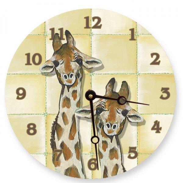 10 Giraffe Wall Clock by Lexington Studios