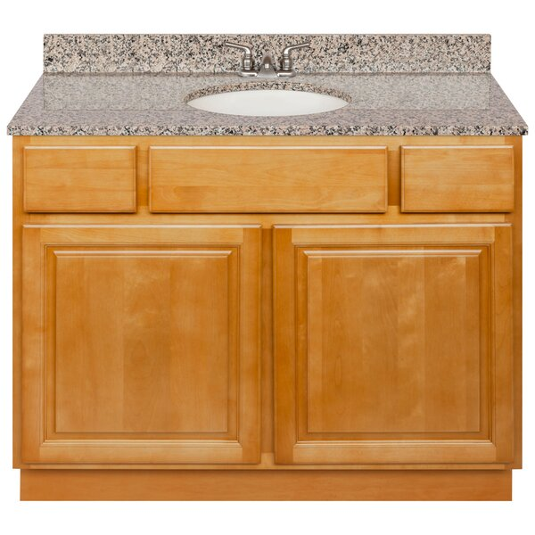 Keswick 42 Single Bathroom Vanity Set by Charlton Home
