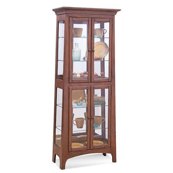 Lancaster III Lighted Curio Cabinet by Philip Reinisch Co.