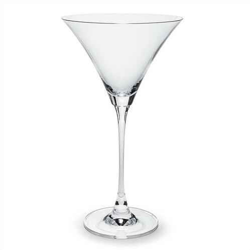 lenox tuscany classics 10 oz crystal martini glass u0026 reviews wayfair - Stemless Martini Glasses