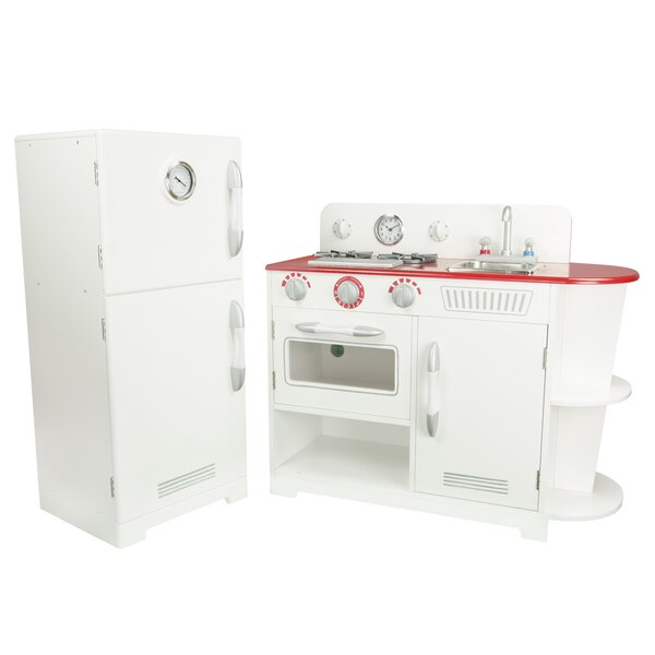 2 Piece Play Kitchen Set by Teamson Kids