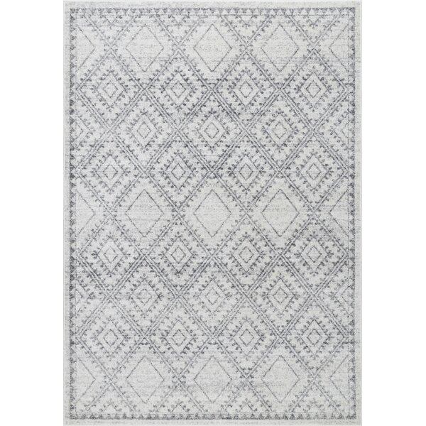 Nethermere Gray Area Rug by Bungalow Rose