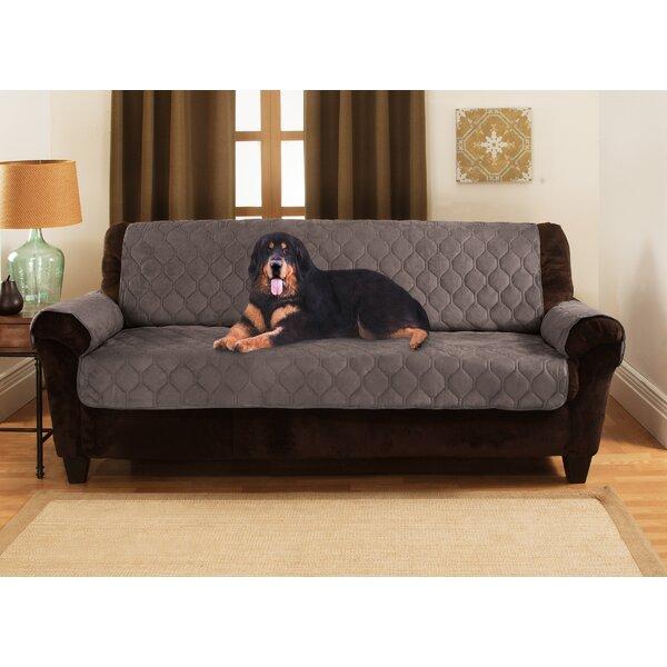 Honeycomb Box Cushion Sofa Slipcover by Yes Pets