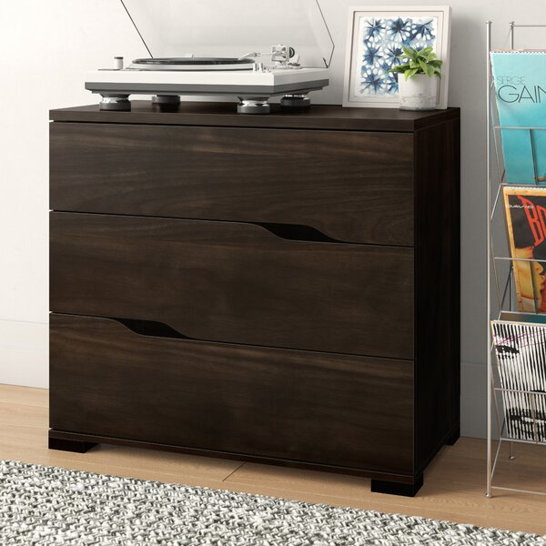 Andrade Beautiful 3 Drawer Accent Chest by Trule Teen