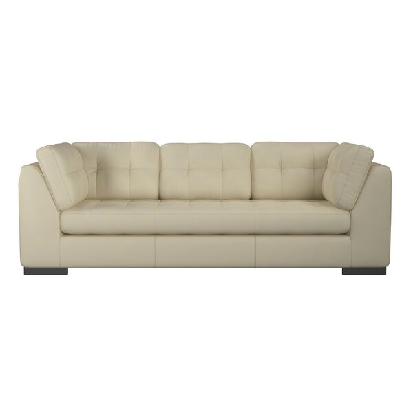 Fresh Ohio Leather Sofa by Westland and Birch by Westland and Birch