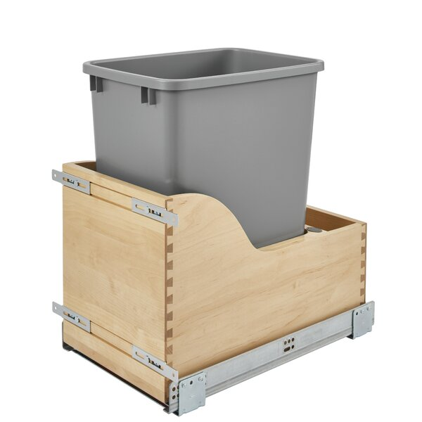 8.75 Gallon Pull Out/Under Counter Trash Can by Rev-A-Shelf