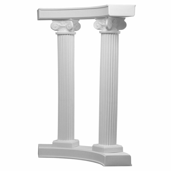 Scamozzi Curved Arbor by EventsWholesale