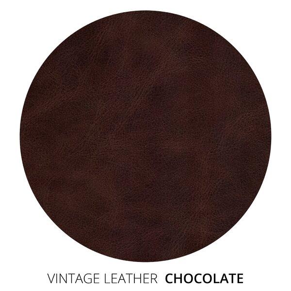Autberry Vintage Leather Chaise Lounge
