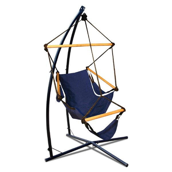 Heathfield Summit Chair Hammock with Stand by Freeport Park