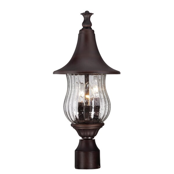 Berriman Outdoor 3-Light Lantern Head by Fleur De Lis Living