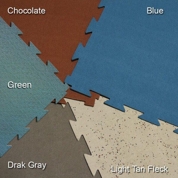 Terra-Flex Interlocking Rubber Mat Flooring Tile (Set of 5) by Rubber-Cal, Inc.