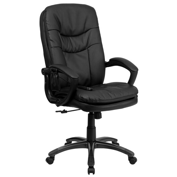 High-Back Leather Executive Chair by Offex
