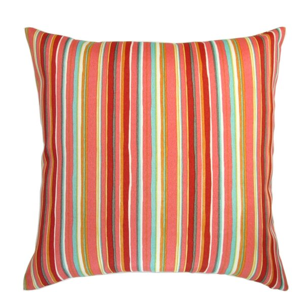 Chavis Colorful Indoor/Outdoor Pillow by Longshore Tides