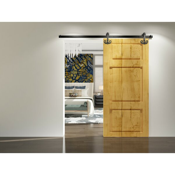 Single Mustache Barn Door Hardware by Vancleef