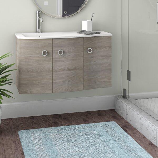 Brookline Medium Modern 42 Wood Single Bathroom Vanity Set by Orren Ellis