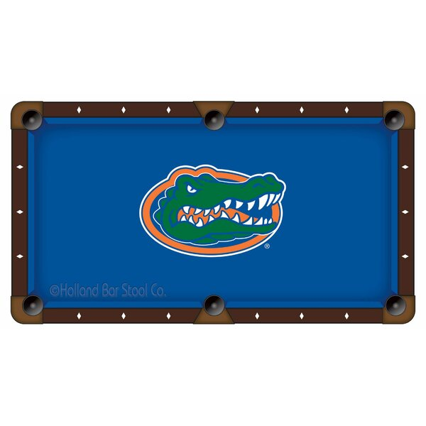 NCAA Pool Table Cloth by Holland Bar Stool