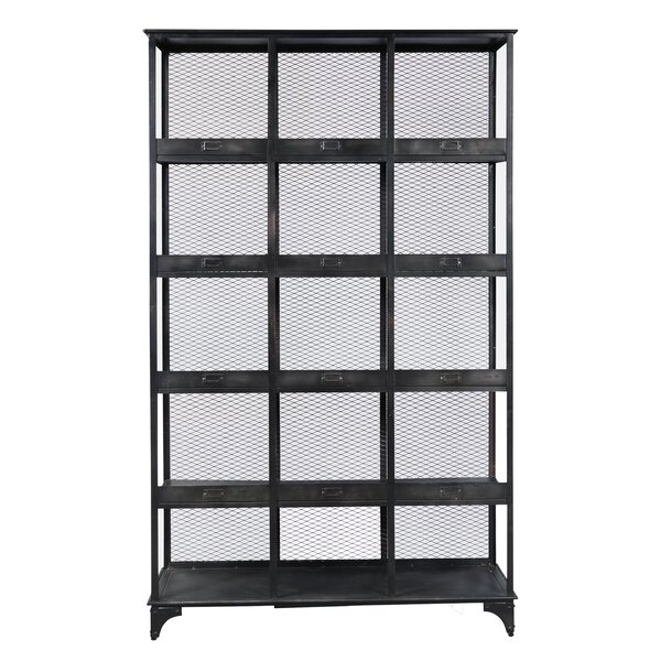 Sergei Standard Bookcase by 17 Stories