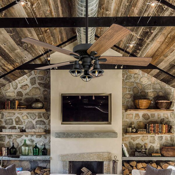 52 Ravello 5 Blade LED Ceiling Fan by Gracie Oaks
