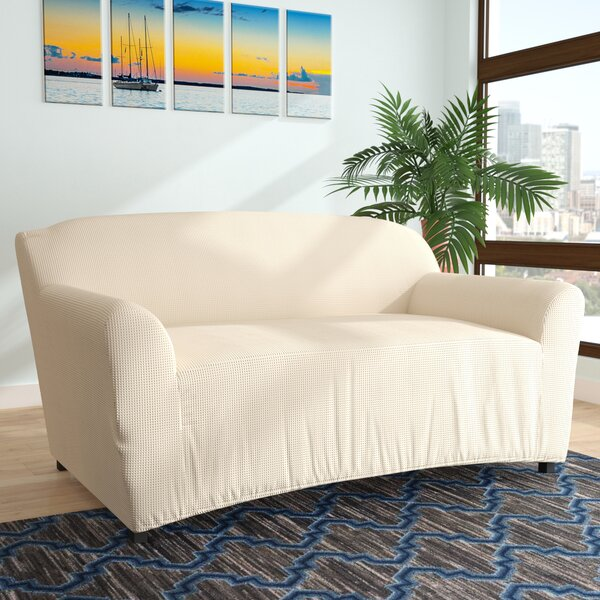 Loveseat Box Cushion Slipcover by Latitude Run