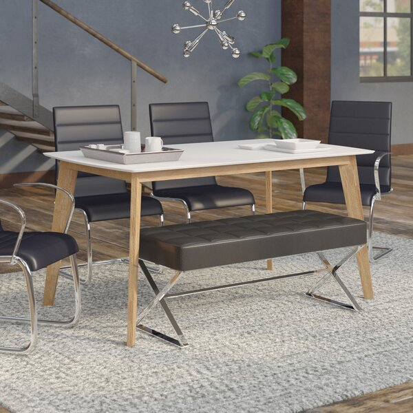 Hummer Retro Modern Dining Table by Mercury Row