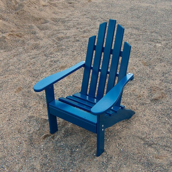 Junior Wood Adirondack Chair by Prairie Leisure Design