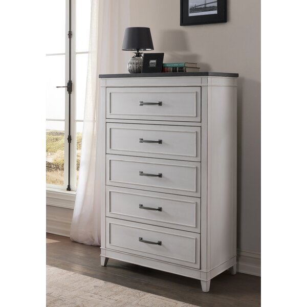 Del Mar 5 Drawer Bachelors Chest by Alcott Hill