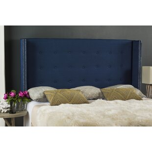 Ordinaire Navy Blue Velvet Headboard | Wayfair