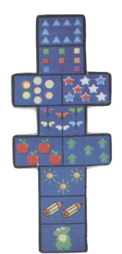 Fun Shape Medium Pile Hopscotch Area Rug by Fun Rugs