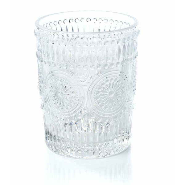 Cynthia Rocks 12 oz. Glass Highball Glasses (Set of 6) by Astoria Grand