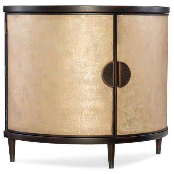 Melange Em Demilune 2 Door Cabinet by Hooker Furniture