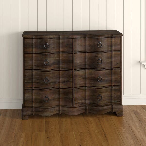 Abbe 8 Drawer Double Dresser with Mirror by Birch Lane™ Heritage