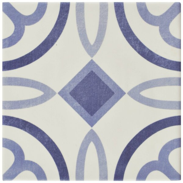 Haute 5.88 x 5.88 Ceramic Field Tile in Blue by EliteTile