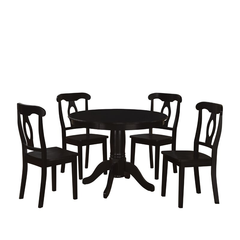 Beachcrest Home Gaskell 5 Piece Dining Set U0026 Reviews | Wayfair