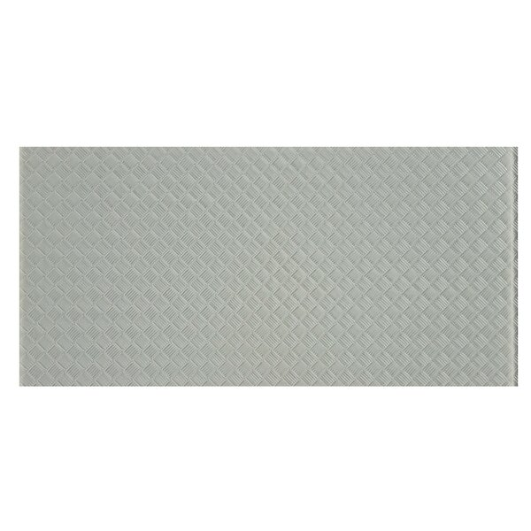 Elements Striped 12 x 24 Glass Field Tile in Gray by Abolos
