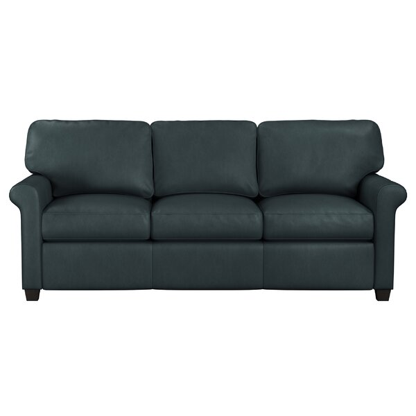 Menno Leather Sofa By Westland And Birch